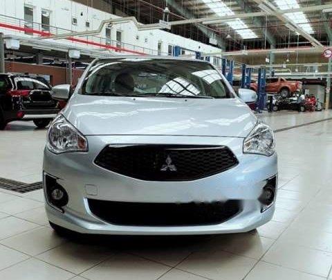 Bán Mitsubishi Attrage sản xuất 2019, màu bạc, nhập khẩu, giá chỉ 375.5 triệu2