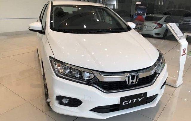Bán Honda City Top đời 2019, màu trắng. Giao ngay, KM hấp dẫn0