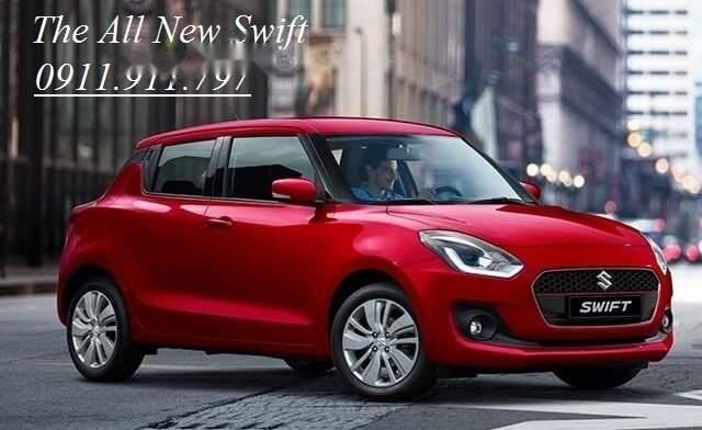 Bán Suzuki Swift năm sản xuất 2018, màu đỏ, nhập khẩu nguyên chiếc giá cạnh tranh0