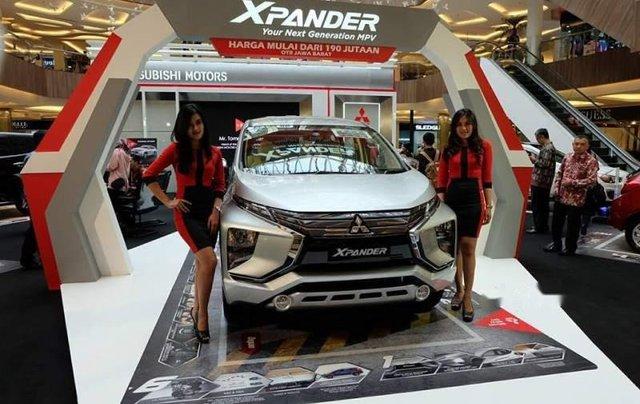 Bán xe Mitsubishi Xpander đời 2019, màu bạc, nhập khẩu nguyên chiếc0