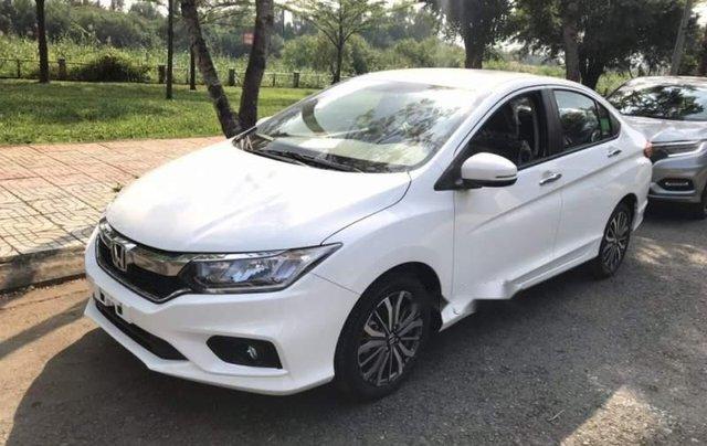 Bán Honda City sản xuất 2019, màu trắng, mới hoàn toàn1