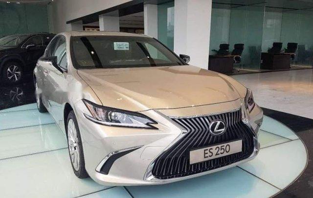 Bán Lexus ES 250 đời 2019, màu vàng cát, nhập khẩu2