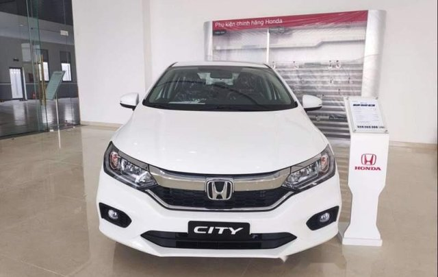Bán ô tô Honda City đời 2019, màu trắng0