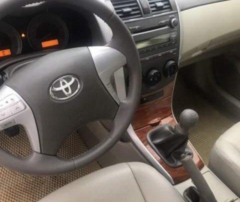 Bán Toyota Corolla Altis đời 2009, màu đen còn mới4