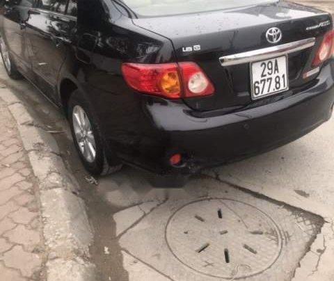 Bán Toyota Corolla Altis đời 2009, màu đen còn mới2