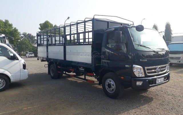 Giá xe tải Thaco Ollin 350. E4, tải trọng 2.15/3.45 tấn mui bạt Trường Hải0