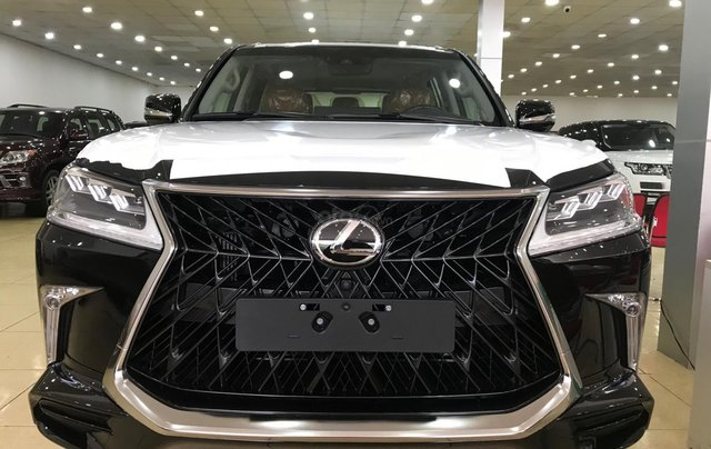 Cần bán Lexus LX570 Super Sport đời 2019, màu đen, nhập khẩu bản cao cấp nhất0