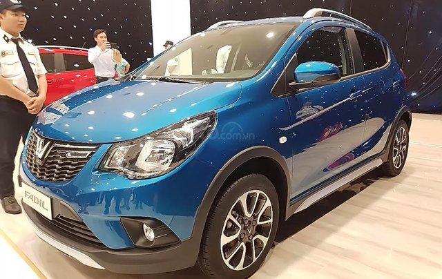 Bán ô tô VinFast Fadil 1.4AT đời 2019, màu xanh lam, nhập khẩu nguyên chiếc, 359tr0