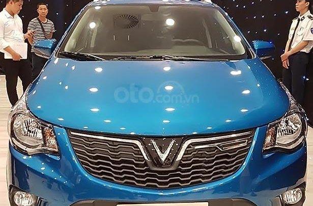Bán ô tô VinFast Fadil 1.4AT đời 2019, màu xanh lam, nhập khẩu nguyên chiếc, 359tr1
