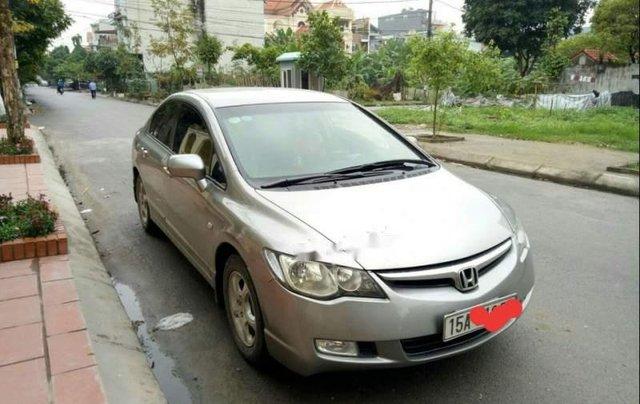 Cần bán lại xe Honda Civic đời 2008, màu bạc còn mới, giá chỉ 355 triệu0