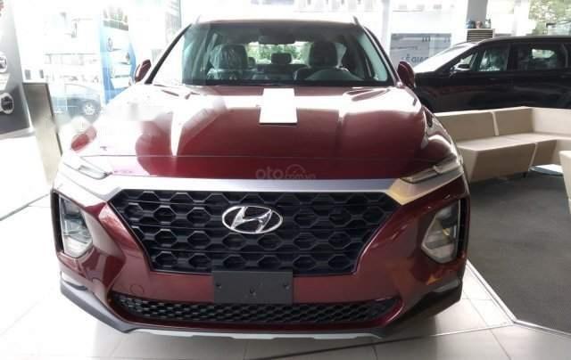 Bán xe Hyundai Santa Fe sản xuất năm 2019, màu đỏ3