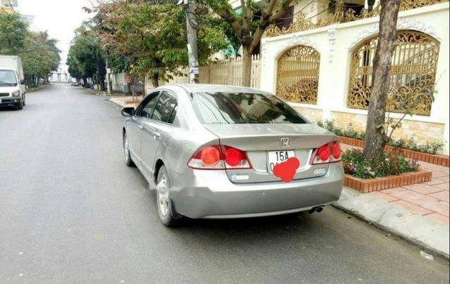 Cần bán lại xe Honda Civic đời 2008, màu bạc còn mới, giá chỉ 355 triệu1