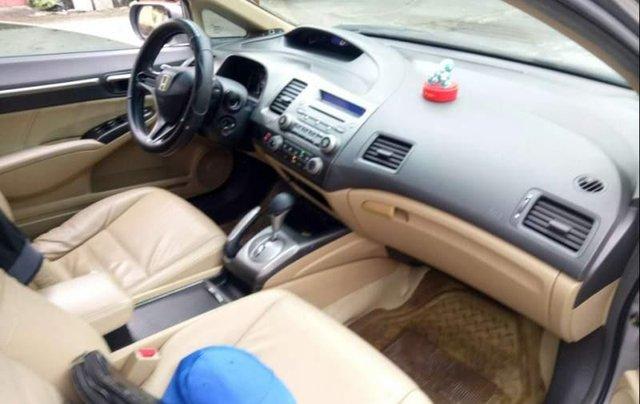 Cần bán lại xe Honda Civic đời 2008, màu bạc còn mới, giá chỉ 355 triệu4