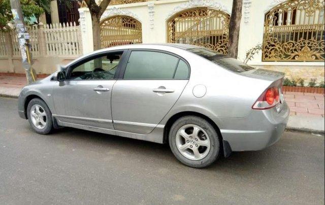 Cần bán lại xe Honda Civic đời 2008, màu bạc còn mới, giá chỉ 355 triệu2