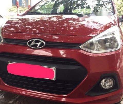 Bán Hyundai Grand i10 đời 2016, màu đỏ, nhập khẩu nguyên chiếc còn mới, giá 272tr0