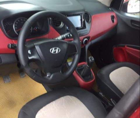 Bán Hyundai Grand i10 đời 2016, màu đỏ, nhập khẩu nguyên chiếc còn mới, giá 272tr3