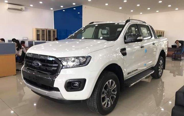 Giảm tiền mặt tất cả các bản Ford Ranger Wildtrak 2.0 Biturbo 2019, giá tốt, đủ các bản giao ngay, LH 09742860092