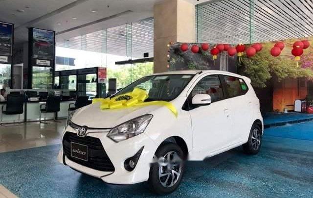 Cần bán Toyota Wigo sản xuất 2019, màu trắng, nhập khẩu nguyên chiếc giá cạnh tranh1