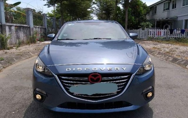 Cần bán gấp Mazda 3 năm 2016, màu xanh lam còn mới, giá tốt0