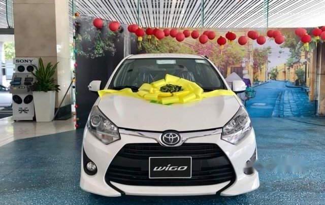 Cần bán Toyota Wigo sản xuất 2019, màu trắng, nhập khẩu nguyên chiếc giá cạnh tranh0