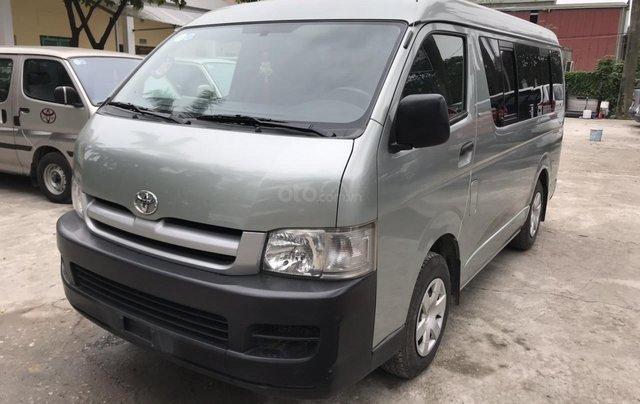 Bán xe Toyota tải Van 3 chỗ mập máy dầu, đời 2008, xe đã hoán cải ra để chạy hàng vào phố5