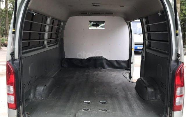 Bán xe Toyota tải Van 3 chỗ mập máy dầu, đời 2008, xe đã hoán cải ra để chạy hàng vào phố14