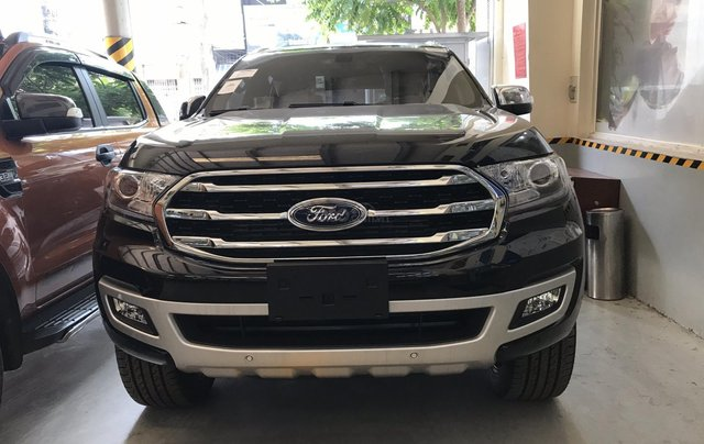 Ford Everest 4x2 titanium, bi-turbo 2019 tặng BHVC phụ kiện. Giao xe toàn quốc - Liên hệ ép giá: 0934.696.4662