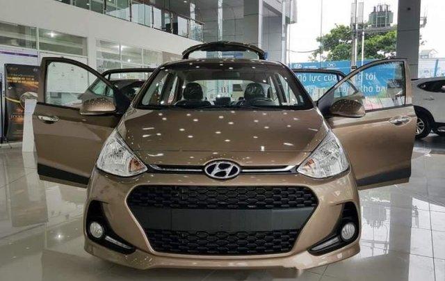 Bán ô tô Hyundai Grand i10 năm sản xuất 2019, màu nâu giá cạnh tranh3