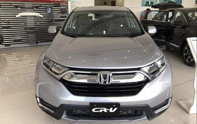 Bán Honda CR V đời 2019, màu bạc, nhập khẩu nguyên chiếc0