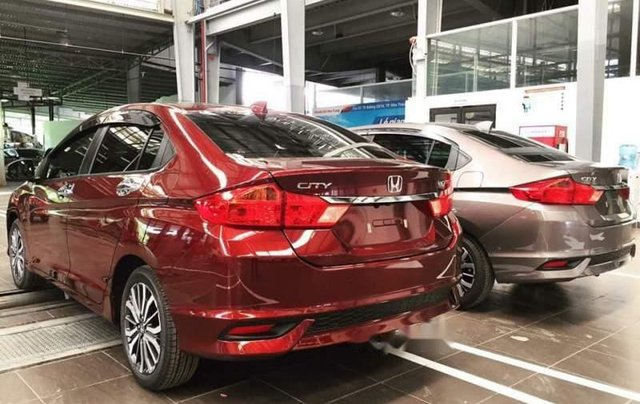 Bán xe Honda City CVT đời 2019, màu đỏ, 559 triệu2