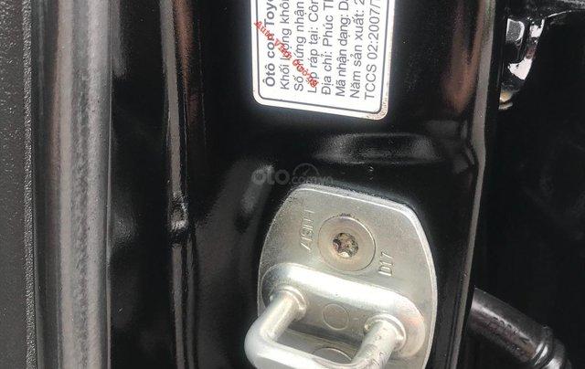 Bán xe Toyota Vios 1.5E MT đời 2009, màu đen14
