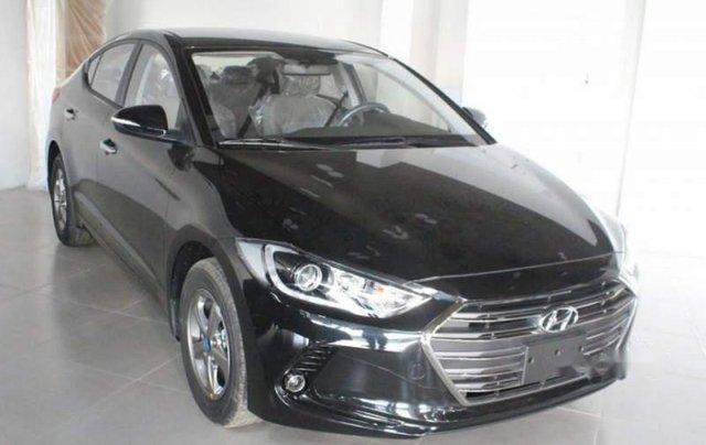 Bán ô tô Hyundai Elantra 1.6MT sản xuất năm 2019, màu đen1