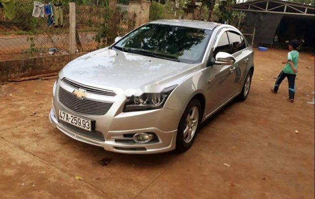 Bán ô tô Chevrolet Cruze sản xuất 2012, màu bạc, xe nhập còn mới giá cạnh tranh0