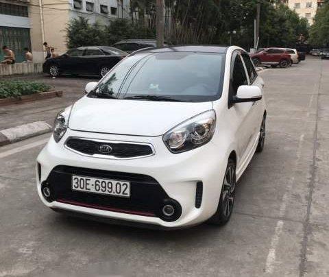 Bán Kia Morning Si AT năm sản xuất 2017, màu trắng số tự động0