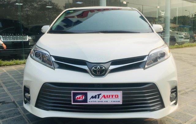 MT Auto bán xe Toyota Sienna LE Limited sản xuất 2018, màu trắng, xe nhập Mỹ nguyên chiếc - LH em Hương 09453924680