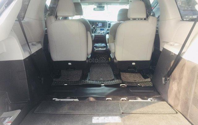 MT Auto bán xe Toyota Sienna LE Limited sản xuất 2018, màu trắng, xe nhập Mỹ nguyên chiếc - LH em Hương 09453924681