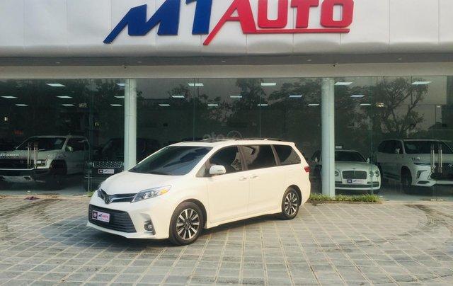 MT Auto bán xe Toyota Sienna LE Limited sản xuất 2018, màu trắng, xe nhập Mỹ nguyên chiếc - LH em Hương 09453924683