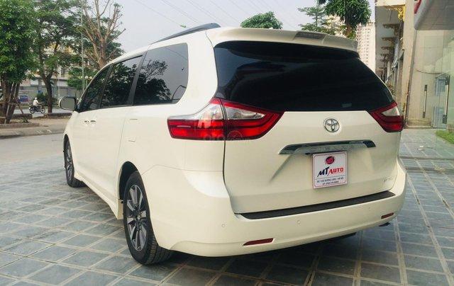 MT Auto bán xe Toyota Sienna LE Limited sản xuất 2018, màu trắng, xe nhập Mỹ nguyên chiếc - LH em Hương 09453924685