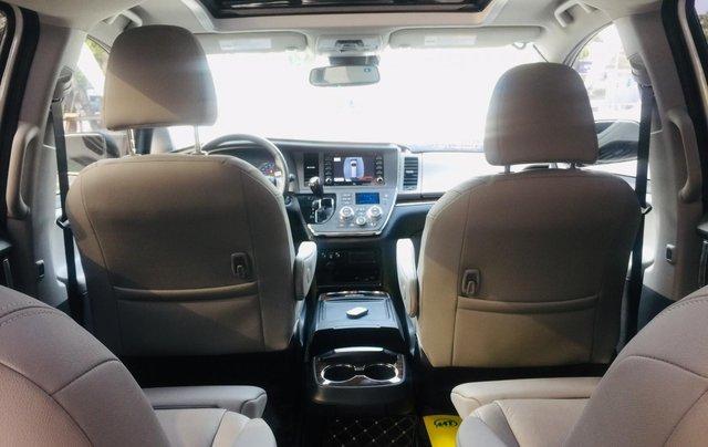 MT Auto bán xe Toyota Sienna LE Limited sản xuất 2018, màu trắng, xe nhập Mỹ nguyên chiếc - LH em Hương 094539246811