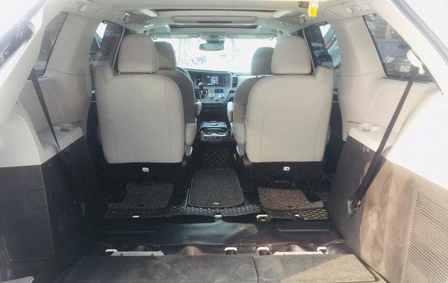 MT Auto bán xe Toyota Sienna LE Limited sản xuất 2018, màu trắng, xe nhập Mỹ nguyên chiếc - LH em Hương 094539246813