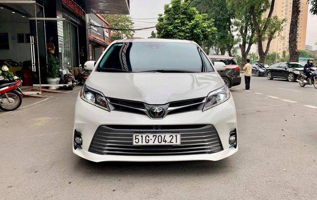 Bán xe Toyota Sienna Limited đời 2019, màu trắng, nhập khẩu nguyên chiếc0