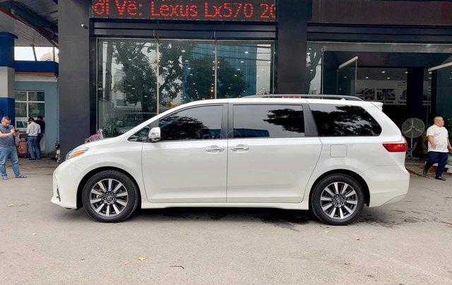 Bán xe Toyota Sienna Limited đời 2019, màu trắng, nhập khẩu nguyên chiếc1