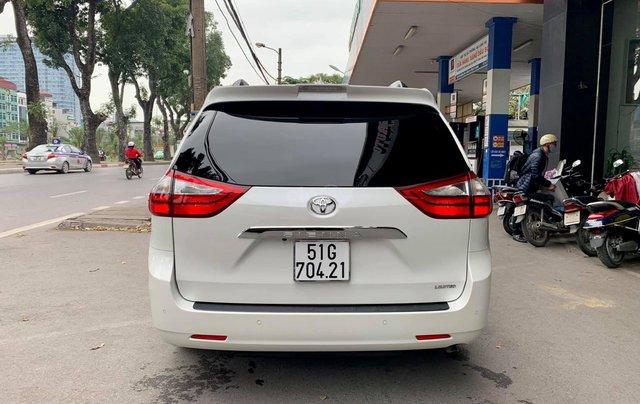 Bán xe Toyota Sienna Limited đời 2019, màu trắng, nhập khẩu nguyên chiếc2