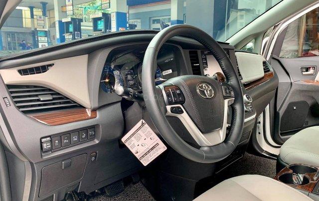 Bán xe Toyota Sienna Limited đời 2019, màu trắng, nhập khẩu nguyên chiếc5
