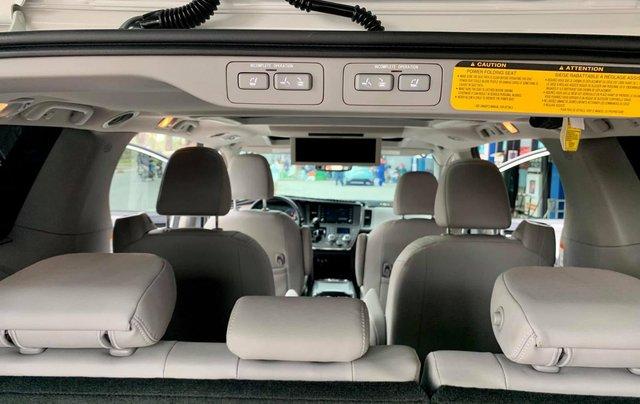 Bán xe Toyota Sienna Limited đời 2019, màu trắng, nhập khẩu nguyên chiếc6