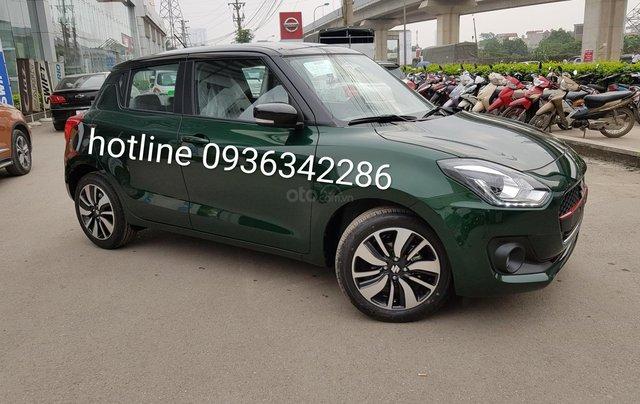 Bán Suzuki Swift màu xanh rêu, giá tốt, nhiều khuyến mại, hỗ trợ trả góp đến 80% giá trị xe, liên hệ 09363422860