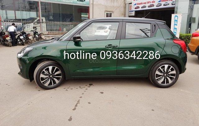 Bán Suzuki Swift màu xanh rêu, giá tốt, nhiều khuyến mại, hỗ trợ trả góp đến 80% giá trị xe, liên hệ 09363422861