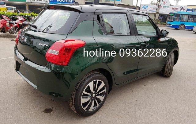 Bán Suzuki Swift màu xanh rêu, giá tốt, nhiều khuyến mại, hỗ trợ trả góp đến 80% giá trị xe, liên hệ 09363422863