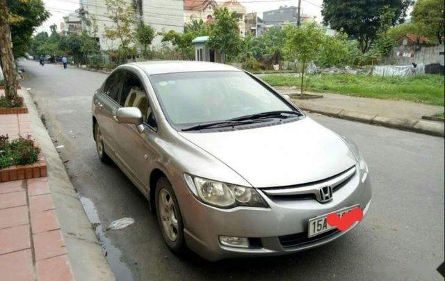Cần bán xe Honda Civic năm sản xuất 2008 giá cạnh tranh0