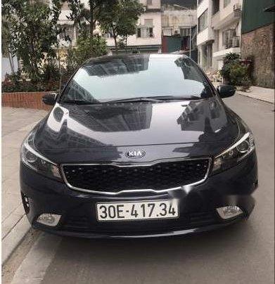 Bán ô tô Kia Cerato đời 2017, màu xanh ghi1